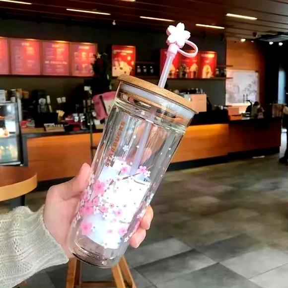 Starbucks Pink Cherry Blossom Tumbler